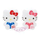 ♥小花花日本精品♥ Hello Kitty 磁鐵夾 文件夾 冰箱磁鐵 發票夾 大臉 兩入一組 60088307