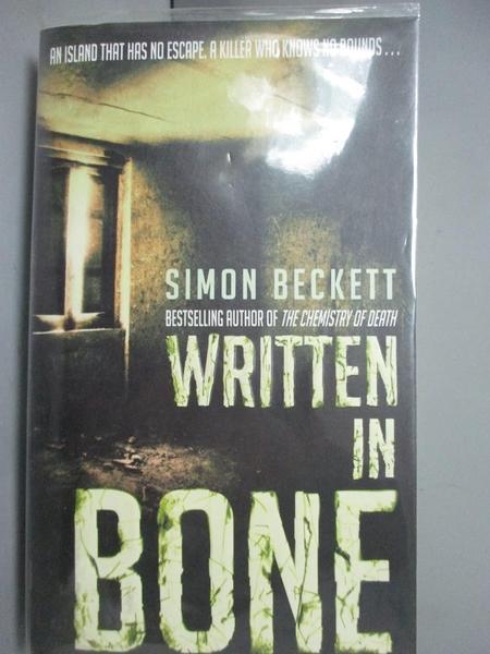 【書寶二手書T8/原文小說_LIX】Written In Bone_Simon Beckett