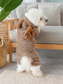小狗狗衣服冬季加厚泰迪貓咪四腳衣變身裝小型幼犬寵物衣服秋冬裝 星河光年