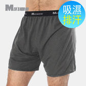 MEN'S nonno涼感平口褲 灰色L號 5件/組