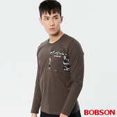 BOBSON 男款迷彩印圖上衣 (37009-46)