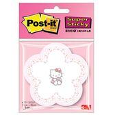 【金玉堂文具】Hello Kitty 凱蒂貓-DZ KITTY Notes-2造型貼 便條紙-夢幻蛋糕花 3M  便條紙