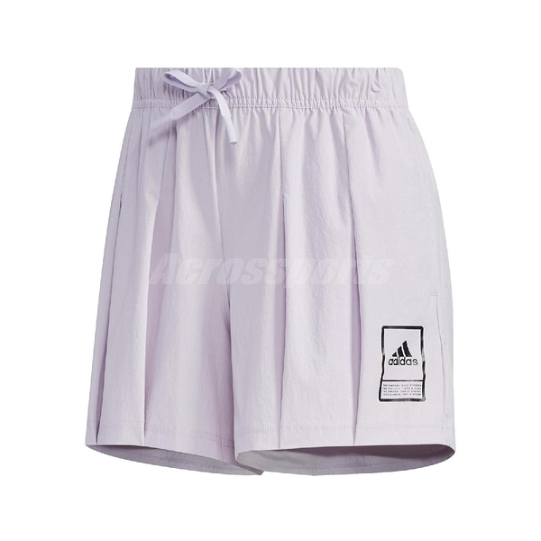 adidas 短褲 Style Shorts 紫 黑 女款 張鈞甯款 運動 訓練 【ACS】 FT2909
