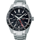 SEIKO精工 Presage 新銳系列 Susutake墨色 GMT機械腕錶 SPB221J1(6R64-00C0D)