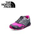 【The North Face 女 越野跑鞋 《葛里芬灰/螢光粉》】CCP5/運動/健行