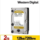 WD 金標 2TB 3.5吋 SATA 企業級硬碟 WD2005FBYZ