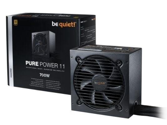 【Be quiet!】PURE POWER 11 700W 80+金牌 電源供應器 【刷卡分期價】