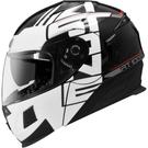 【東門城】ASTONE RT1000 AB9(黑白) 可掀式安全帽 雙鏡片