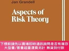 二手書博民逛書店Aspects罕見Of Risk Theory (springer Series In Statistics)