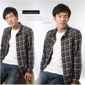 【大盤大】(S22798) 男 純棉襯衫 格紋襯衫 抗焰 抗靜電 厚 長袖基本款 休閒棉衫【XL和2XL號斷貨】