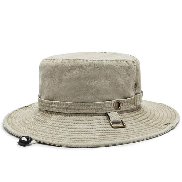 全場九五折 帽子男士夏天遮陽帽戶外透氣防曬帽男騎車帽漁夫帽登山釣魚太陽帽