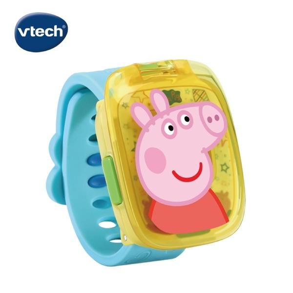 Vtech 粉紅豬小妹兒童遊戲手錶-藍