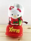 【震撼精品百貨】Hello Kitty 凱蒂貓~聖誕靴子擺飾-KITTY造型-紅站姿-S
