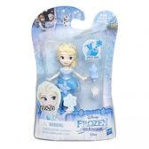 《 Disney 迪士尼 》迷你公主人物組 - 艾莎╭★ JOYBUS玩具百貨
