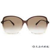 GUCCI 墨鏡 GG0546SK (漸層透棕) 微蝶形款 修飾 太陽眼鏡 久必大眼鏡