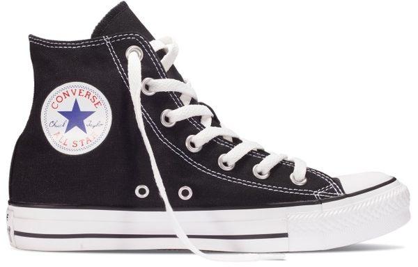 公司貨~CONVERSE~All Start-基本款中筒帆布鞋(黑)(M9160C)