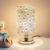 歐式溫馨喂奶創意臥室床頭燈 簡約現代家用觸摸可調光小台燈   LannaS