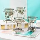 鐵藝香薰燈爐 蠟燭加熱 歐式溫馨浪漫復古居家臥室內客廳精油熏香 夏季新品