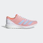 ADIDAS adizero Boston 8 w [F34060] 女鞋 運動 慢跑 休閒 輕量 支撐 愛迪達 粉藍