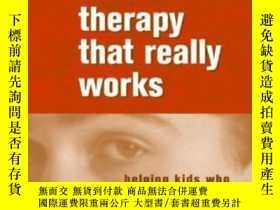 二手書博民逛書店Adolescent罕見Therapy That Really