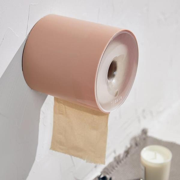 尺寸超過45公分請下宅配智慧夫人 壁掛式卷紙巾盒防水衛生間浴室廁所免打孔卷紙筒紙巾架