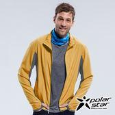 PolarStar 中性 UV CUT抗風外套『黃』P18115 防曬外套│休閒外套│吸濕排汗外套│穿指式袖口外套