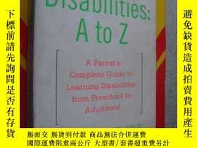 二手書博民逛書店Learning罕見disabilities (a parent