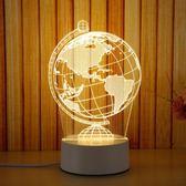 售完即止-led小夜燈3D小檯燈臥室床頭燈插電喂奶燈嬰兒臥室睡眠燈1-2(庫存清出T)