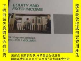 二手書博民逛書店EQUITY罕見AND FIXED INCOME 2015.Y2