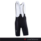 【亞特力士ATLAS】五分透氣吊帶褲(五代) 30℃~38℃   HJ-7800-1(黑灰)