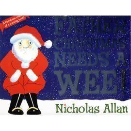 【麥克書店】FATHER CHRISTMAS NEEDS A WEE! /英文繪本《幽默. 聖誕節》
