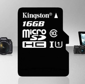記憶卡 金士頓32G手機C10高速80M/S行車記錄儀內存卡TF卡【快速出貨八折下殺】