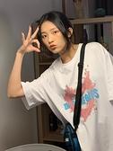 短袖T恤 白色短袖t恤女2021夏季新款純棉寬鬆韓版原宿風港風半袖上衣ins潮 寶貝寶貝計畫 上新