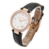 Michael Kors 紐約時尚晶鑽腕錶(玫瑰金)MK2462