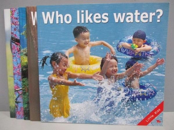 【書寶二手書T2/少年童書_QGV】who likes water?_Trees_What are you doing等