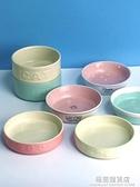 鄰家寵物陶瓷碗處理貓碗狗碗狗食盆貓咪碗小型流浪貓碗流浪貓糧碗 極簡雜貨