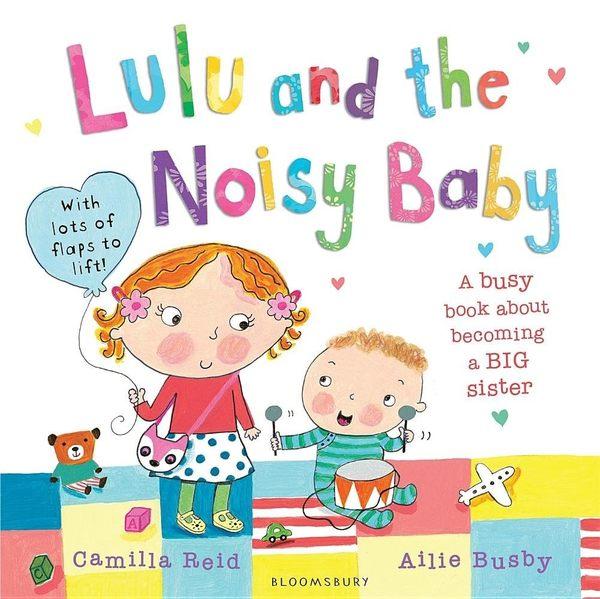 Lulu And The Noisy Baby Lulu和吵鬧的弟弟 平裝本操作書