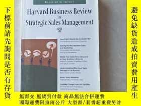 二手書博民逛書店戰略銷售管理(哈佛商業評論系列)HBR:罕見ON STRATEGIC SALES MANAGEMENT HAR