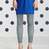 ohoh-mini孕婦裝 璀璨視覺彈性貼身內搭孕婦褲
