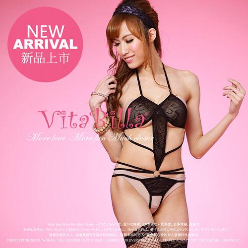 【伊莉婷】VitaBilla 征服情海 連身睡衣 一件入