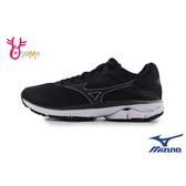 Mizuno美津濃 成人女款 WAVE RIDER 23 慢跑鞋 運動鞋 H9269#黑色◆OSOME奧森鞋業
