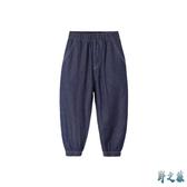 新款夏裝兒童防蚊褲2020童裝男童褲子多多家長褲薄款小孩牛仔褲 FX5303 【野之旅】