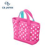 CB Japan 水玉點點系列可洗可拆保冷托特手提袋4L-玫瑰粉