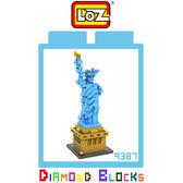 ☆愛思摩比☆ LOZ 鑽石積木 9387 自由女神 建築系列 益智玩具 趣味 腦力激盪 迷你積木