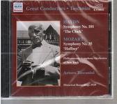 【正版全新CD清倉  4.5折】海頓/莫札特:交響曲集(托斯卡尼尼,紐約愛樂)