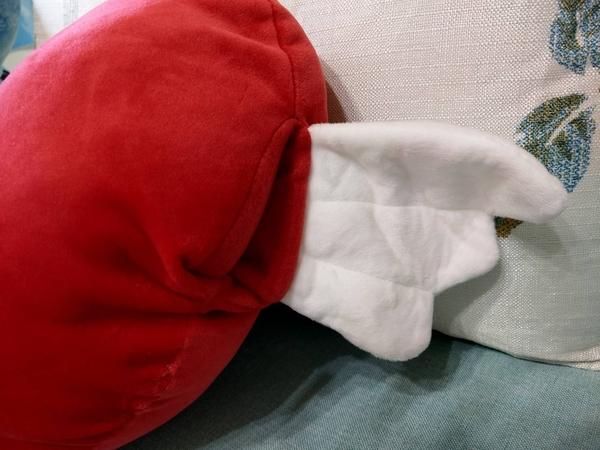 【翅膀款】愛心抱枕 告白 求婚 拍婚紗道具 婚禮布置 絨毛娃娃 創意雜貨 餐廳 聖誕節交換禮物