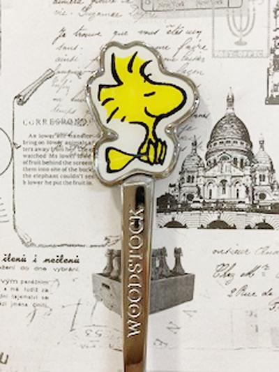【震撼精品百貨】史奴比_Peanuts Snoopy~日本造型不銹剛湯匙-小黃鳥#61348