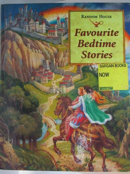 【書寶二手書T1/少年童書_D3N】Favourite Bedtime Stories
