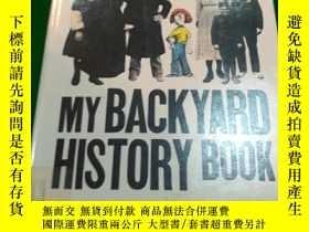 二手書博民逛書店my罕見backyard history BookY290224
