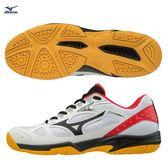 美津濃 MIZUNO 全碼羽球鞋 SKY BLASTER (白紅) 71GA194509【 胖媛的店 】
